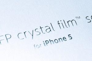 パワーサポート AFPクリスタルフィルム for iPhone5