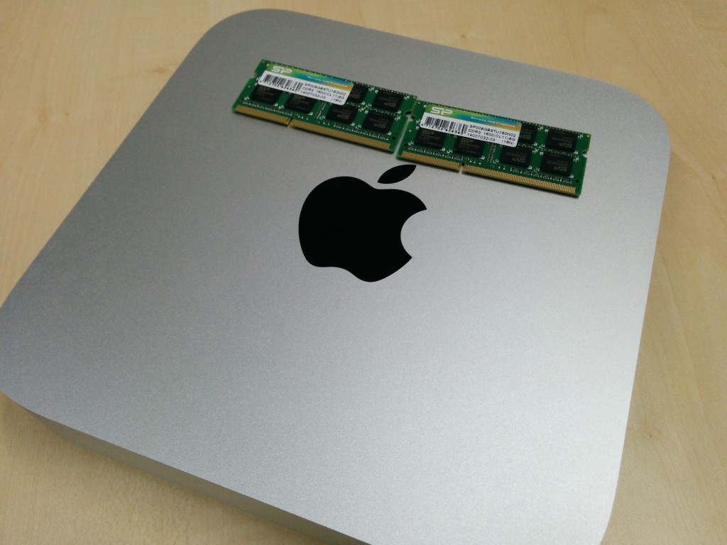 mac mini メモリ