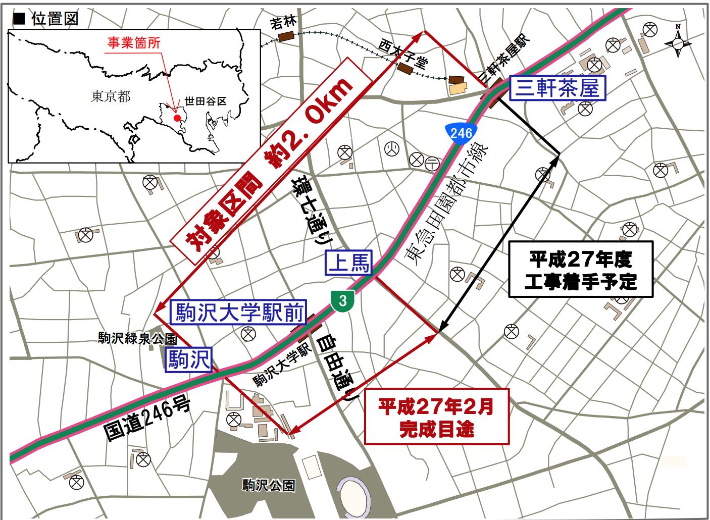 246バス自転車レーン実走評価会